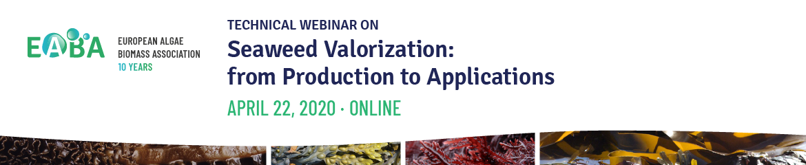 EABA Webinar Seaweed Valorization: from Production to Applications