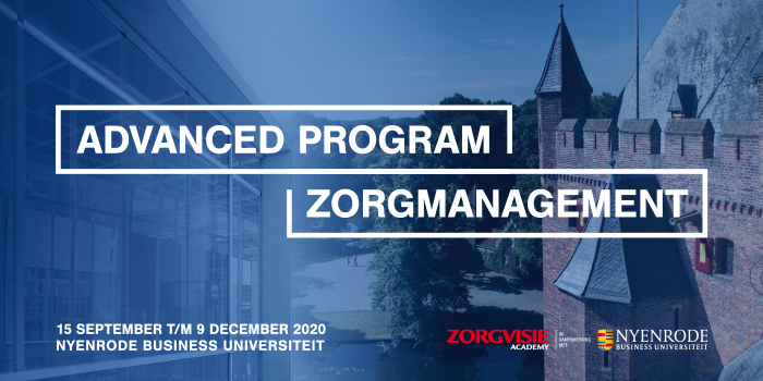 Interesse formulier | Advanced Program Zorgmanagement 15 sept