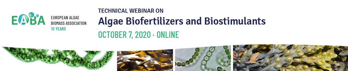 Webinar Algae Biofertilizer and Biostimulants