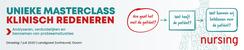 Masterclass Klinisch Redeneren | 7 juli 2020