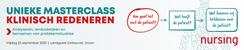 Masterclass Klinisch Redeneren | 25 september 2020