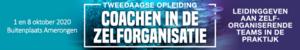Coachen in de Zelforganisatie   1 & 8 oktober 2020