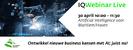 IQWebinar Live: AI voor Maritiem/Haven