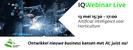 IQWebinar Live: AI voor de horticulture