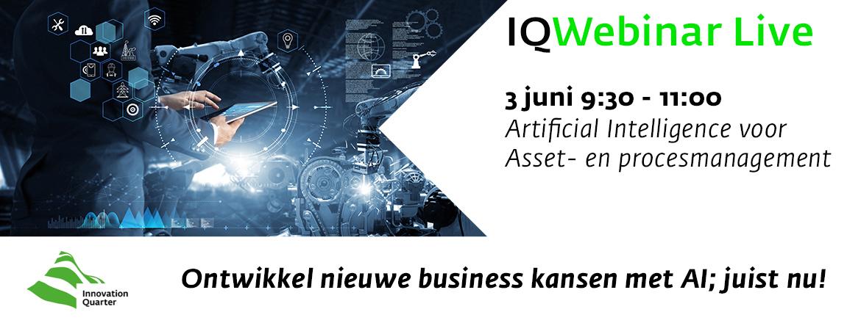 IQWebinar Live: AI voor asset- en procesmanagement
