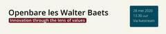 Openbare les Walter Baets