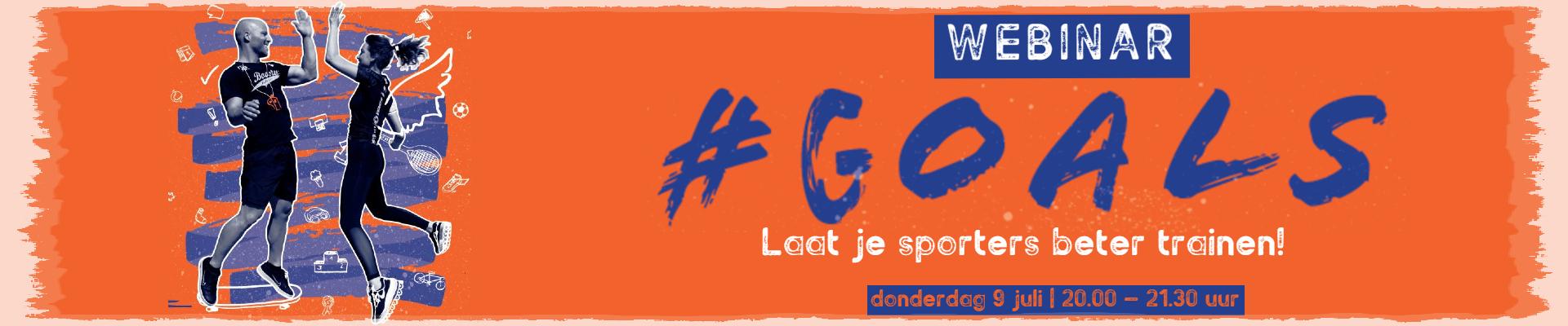 Webinar #GOALS;  laat je sporters beter trainen!
