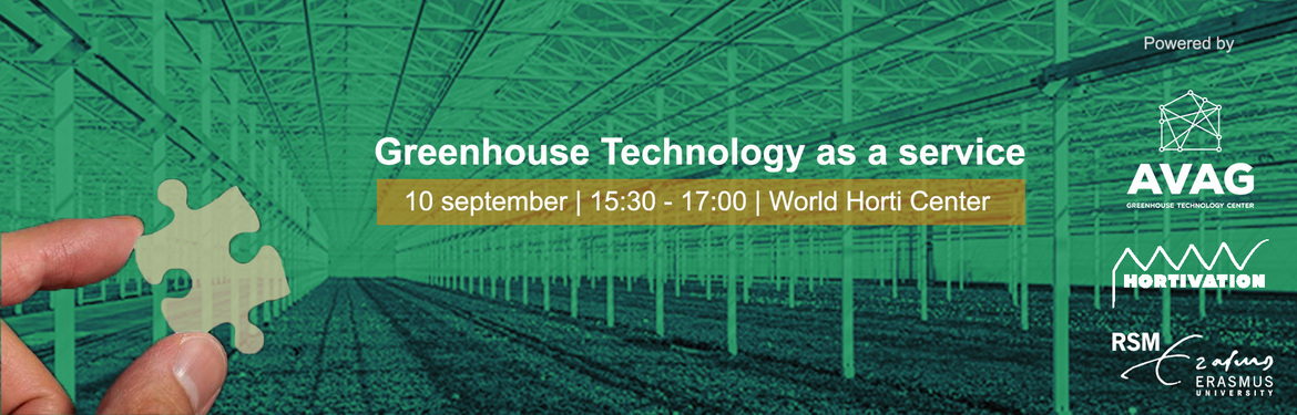Greenhouse Technology as a service - How