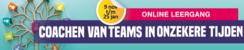 Online leergang - Coachen van teams in onzekere tijden | November-Januari