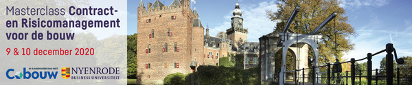 Nyenrode Contract-en risicomanagement 9/10 december