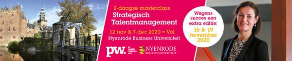 Nyenrode Masterclass Talentmanagement, 16 en 19 november 2020