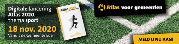 Digitale lancering Atlas voor gemeenten 2020 - thema sport