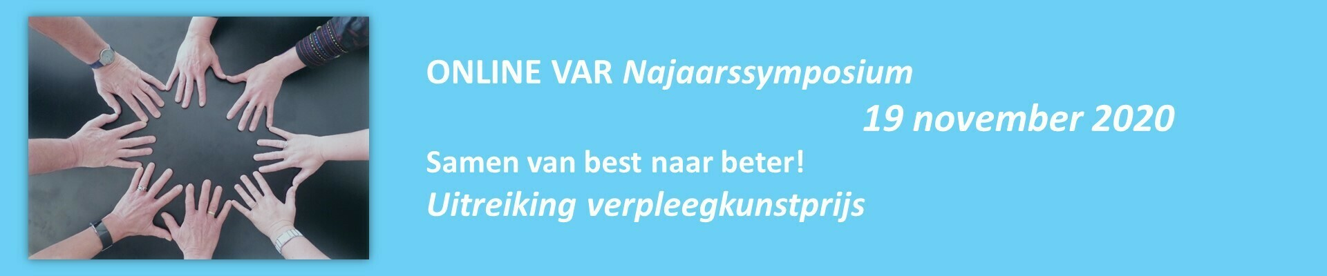 Online VAR Najaarssymposium 19 november 2020