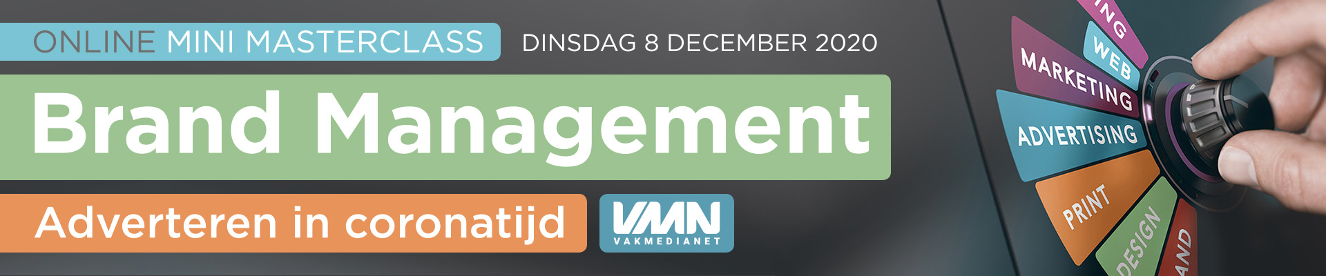 Mini Masterclass Brand Management 8 december 2020