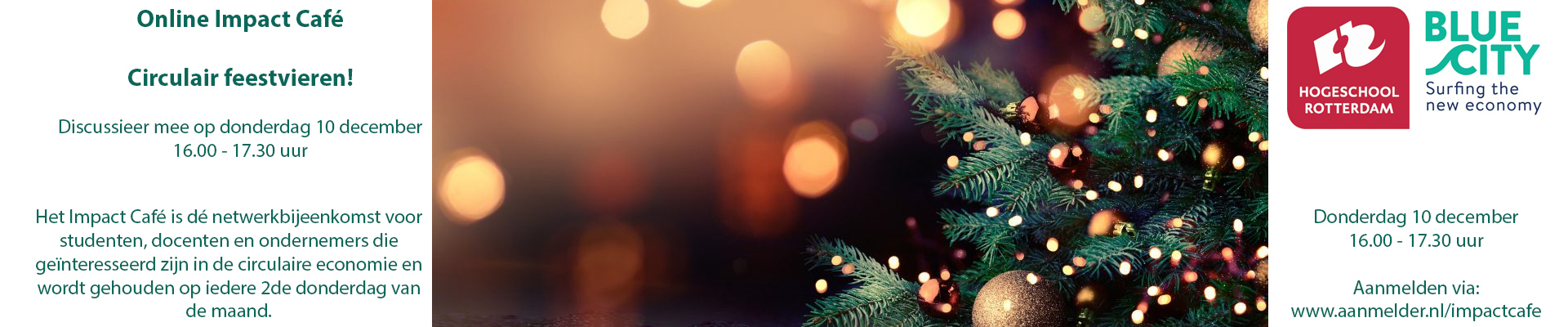 Online Impact Café December: Circulair feestvieren!