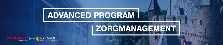 Advanced Program Zorgmanagement   8 september 2021