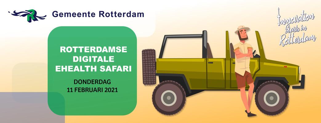 Rotterdamse Digitale eHealth Safari - 11 februari 2021
