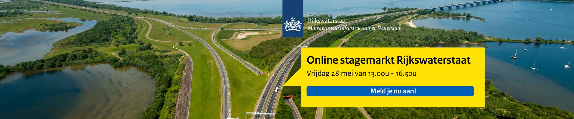 Online stagemarkt Rijkswaterstaat