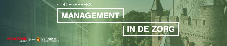 Collegereeks Management in de zorg   1 september 2021