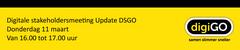 Digitale stakeholdersmeeting Update DSGO