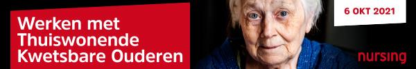 Werken met thuiswonende kwetsbare ouderen   6 oktober 2021