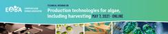 Production technologies for algae, including harvesting