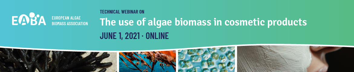 The use of algae biomass in cosmetic products