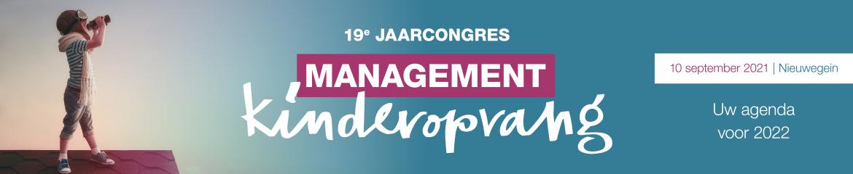 Jaarcongres Management Kinderopvang | 10 september 2021