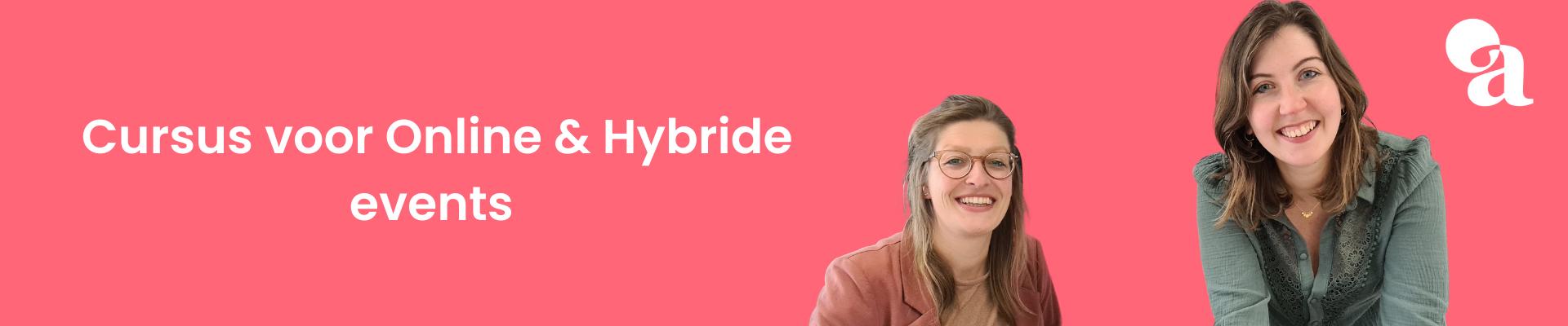 Cursus voor Online & Hybride events