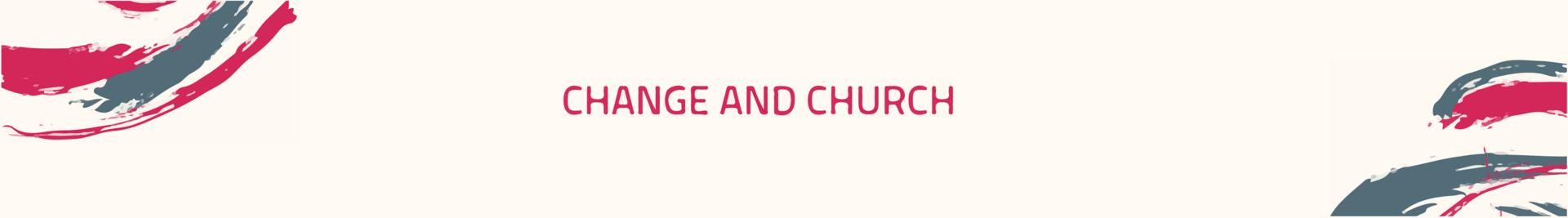 Online Symposium Change & Church