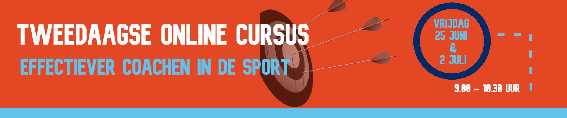 Tweedaagse Online Cursus Effectiever coachen in de sport