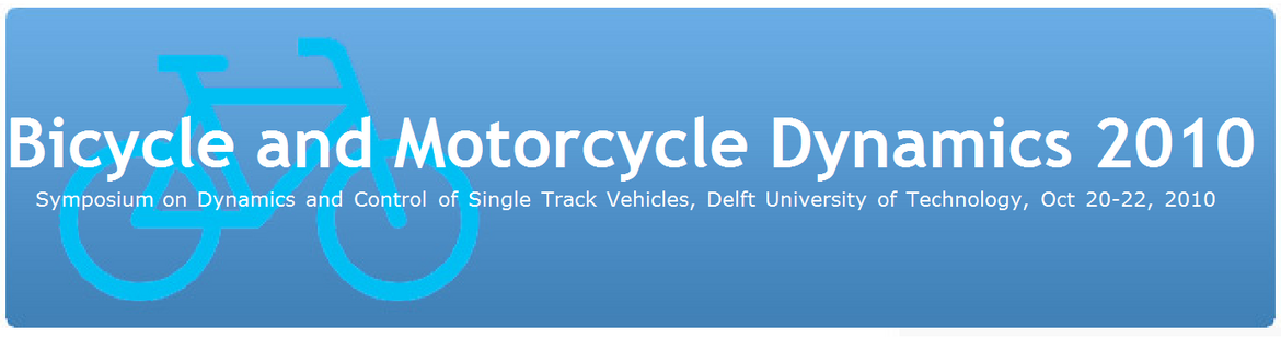 Bicycle and Motorcycle Dynamics 2010