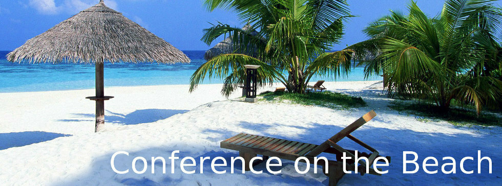 Conference on the beach
