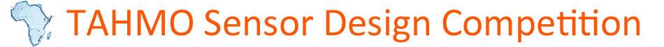 TAHMO Sensor Design Competition