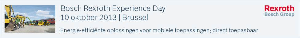 Bosch Rexroth Experience Day (Brussel)