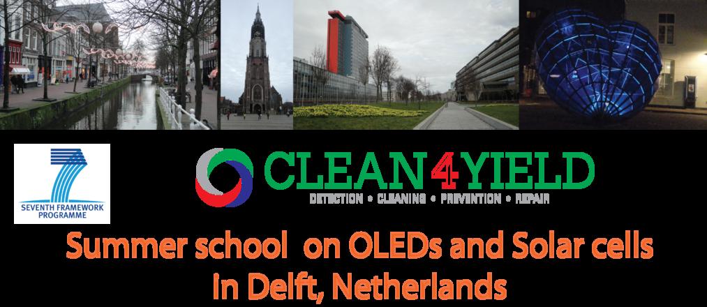 Summer School Clean4Yield