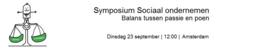 Symposium Sociaal Ondernemen