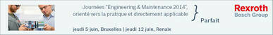 Journées Engineering & Maintenance 2014
