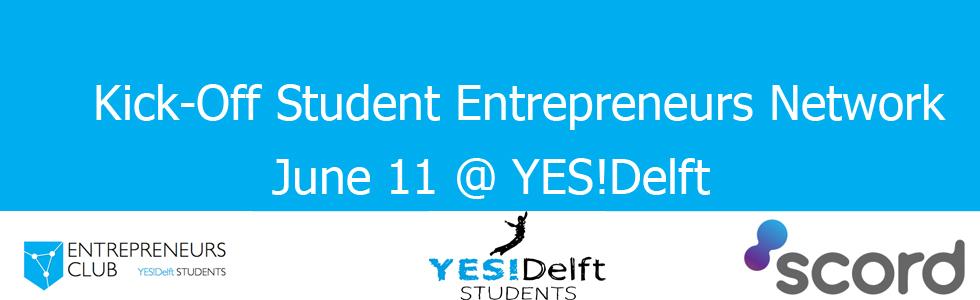 Kickoff Studenten Ondernemerschapstraject