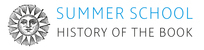 Summer School History of the Book 2015