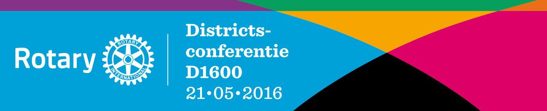 Districtsconferentie 2016