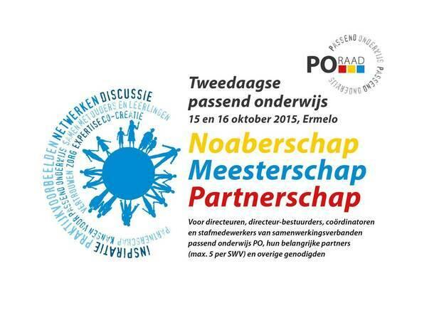 Tweedaagse passend onderwijs PO-Raad 2015