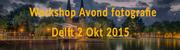 Workshop Avondfotografie Delft 2-okt-2015