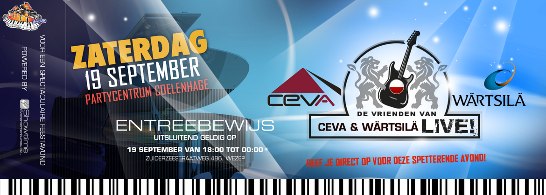 Vrienden van CEVA & Wärtsila LIVE