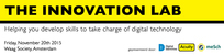 The Innovation Lab 20 November 2015