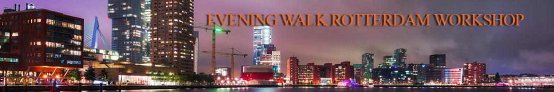 Evening walk rotterdam 30-10-2015
