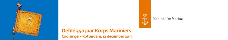 Defilé Korps Mariniers 350 jaar