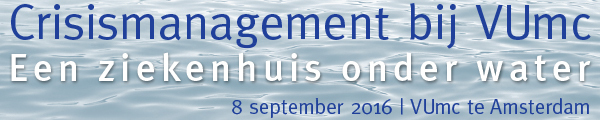 Symposium Crisismanagement bij VUmc