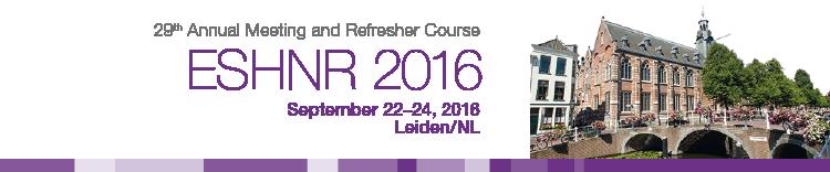 ESHNR 2016 Workshops