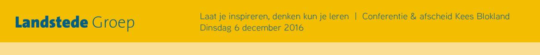 Aanmelden gasten afscheidsconferentie Kees Blokland 'Laat je inspireren denken kun je leren'